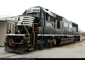 NS SD70 repaint