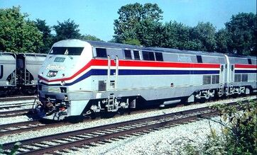 Amtrak P40DC