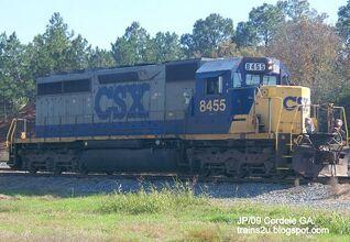 CSX SD40-2