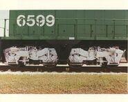 BN 6599 SDP45 Close-up