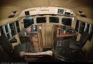 CN C40-8M Cab Interior