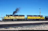 UP SD40X units
