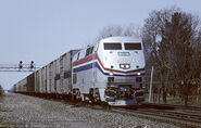 Amtrak Mail Train