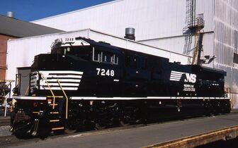 NS SD70ACU 7248