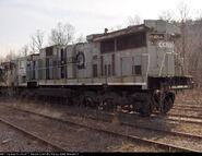 Scrapped C32-8 units