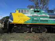 SD70ACe-BB Close-up