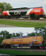 CNW 1 Fuel Tender