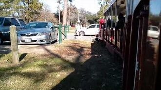 Hermann Park Train Collision-Pure win!