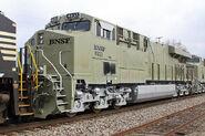 BNSF Primer ES44C4 units