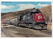 SP GP40X Test Train
