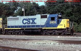 CSX SD20-2 YN3