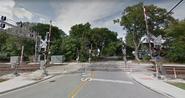 Monroe Street 4-Quadrant Gate Crossing, Hinsdale, Illinois