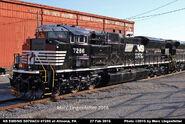 NS 7286 SD70ACU