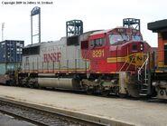 BNSF SD75I