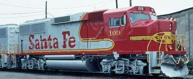 ATSF GP60M units