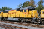 UP 2203 SD60