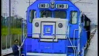 GM EMD SD60