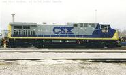 CSX 9113 (CSX 14) AC4400CW