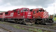 Candy Red SOO SD60