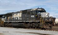 Battered NS SD70