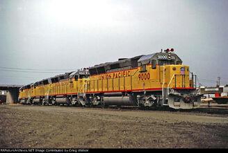 UP GP40X units