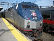 Former Amtrak P40DC