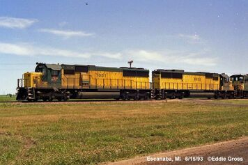 CNW SD50 and SD60