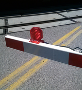 Union Pacific L.E.D. gate Lights octagon shaped gate L.E.D.s 002