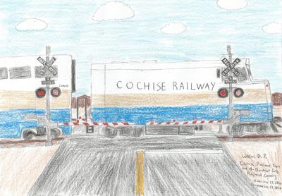 Cochise Railway at Four-Quad Crossing