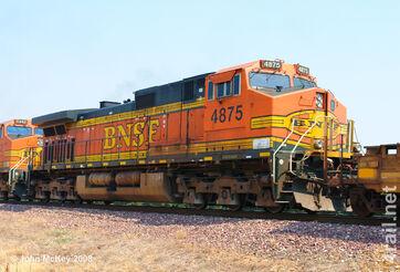 BNSF Dash 9