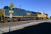Union Pacific and CSX locomotive November 18, 2016 3