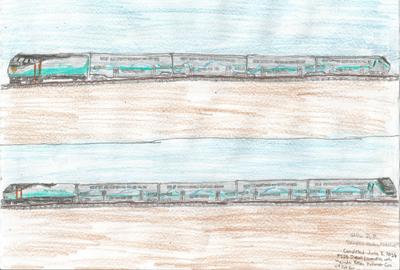 More Drawings Modern Metrolink Material Trains And Locomotives