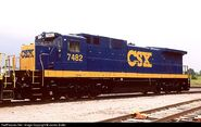 YN3 CSX C39-8
