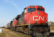 Early CN ES44DC