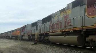 Big Power Move!! 26 BNSF SD75M's, With 19 Warbonnets!!