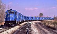 Conrail GP15-1 fleet