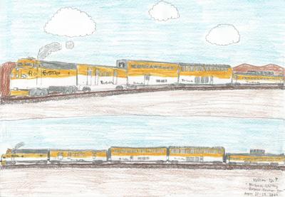Rio Grande Passenger Train