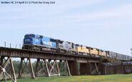 Cool CSX UP train