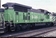 BN 5499 Rear