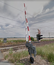 Wishbone Gate in Hlizov, Czechia