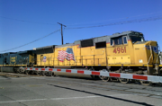 Union Pacific and CSX locomotive November 18, 2016 2