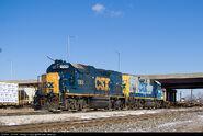 CSX GP15T units