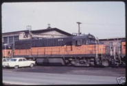 Milwaukee Road U25B 388