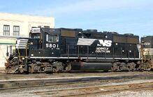 NS 5801 GP38-3