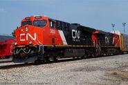 CN ET44AC and ES44AC