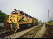 CSX 2404 Wreck