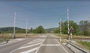 Swiss 4-Quadrant Gate Crossing in Courtetelle, Switzerland