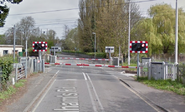 British 4-Quadrant Gate Crossing, Graham's Road, Cambridge, UK 2