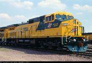 CNW 8717 Dash 9
