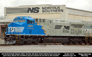 NS 4001 AC44C6M Black Logos